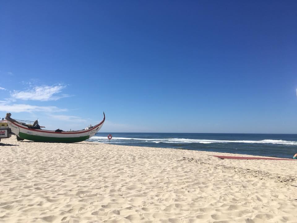 Aan de Silver Coast van Portugal